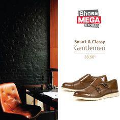 Το αποθηκεύσατε στο Men's Shoes Ιδανικά για να δείχνετε άψογοι στο γραφείο! #shoesmegastores #oxfords #men #newcollection #elegance