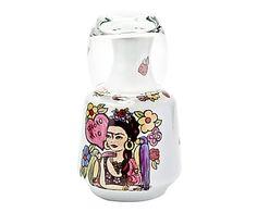 Moringa com Copo Flores Frida Kahlo - 700ml
