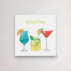 Cocktail Party Canvas Art Print by Canvas Wall Art, Canvas Art Prints, Arty, Canvas, Painting, Art, Canvas Art