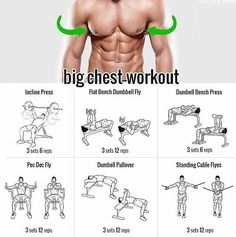 """@menwithhealth: """"Want a big chest? Try this! via @factsoftraining #MenWith #menwithhealth"""""""