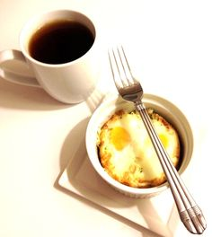Eggs en Cocotte: Baked Eggs