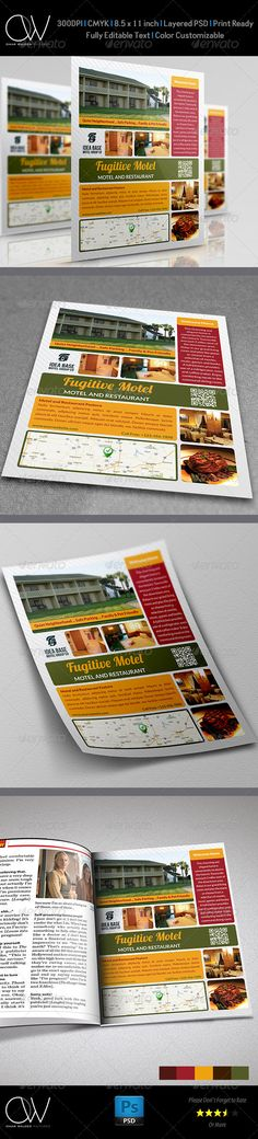 Sandwich Restaurant Flyer Template Flyer template, Flyer design - restaurant flyer