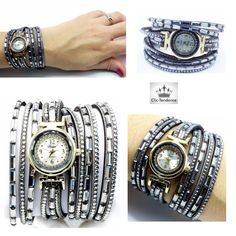 ClicTendance.fr  montres  femme  multirangs  facette  chrome  silver   glamour  mode  tendance  fashion  look  glamour  style  blog  love  amour   followme ... 65fb4dbadff