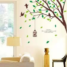 Resultado de imagen para arboles pintados en la pared