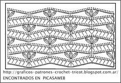 CROCHET - GANCHILLO - PATRONES - GRAFICOS: CROCHET = CHALEQUITO TEJIDO A GANCHILLO CON SU PATRON