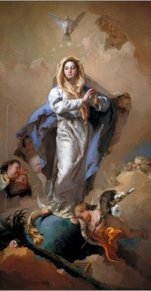 By Álvarez Cubero, JoséTiepolo, Giambattista, 1767-1769, Immaculée Conception, Museo Nacional Del Prado, Madrid.