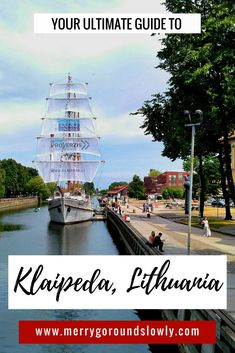 Are you planning a trip to Lithuanian port city of Klaipeda? Backpacking Europe, Travel Tips For Europe, Travel Pics, European Vacation, European Travel, Amazing Destinations, Travel Destinations, Lithuania Travel, Baltic Cruise