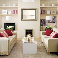 The Decor Chronicles: Common Living Room Furniture Arrangements...; parallel furniture arrangement