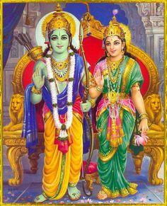 Shree Ram and Sita