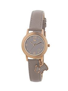 Radley rose gold plated leather ladies watch @ house of fraser