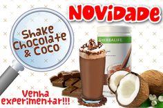 #Shake Chocolate c/ Coco!!! Lançamento #Herbalife silvana.goncales@globo.com