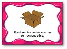 "Virelangue ""Écartons ton carton"" Ib Classroom, French Classroom, Reading Games, Literacy Stations, Phonics, Teaching Resources, Back To School, Language, Teacher"