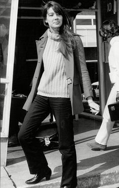 Original Street Style Star: Francoise Hardy - 1966: Knit Perfection from #InStyle