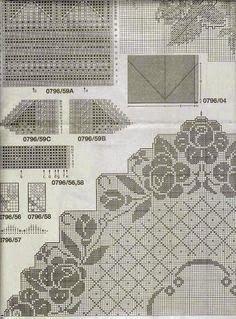 centrotavola | Hobby lavori femminili - ricamo - uncinetto - maglia