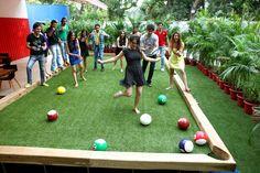Poolball! 3 metros de largura por 7 m de comprimento