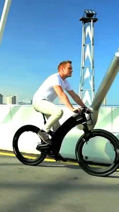 New Technology Gadgets, Car Gadgets, Futuristic Technology, Cool Technology, High Tech Gadgets, Velo Design, Bicycle Design, Cool Gadgets To Buy, Cool Inventions