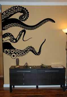 large #octopus tentacles wall decal | $54.99 tattoos