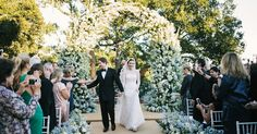 A Romantic Wedding at a Family Vacation Home in Montecito