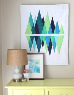 Mini-Wavelength {RJR Fabrics: What Shade Are You?}   Bryan House Quilts   Bloglovin'