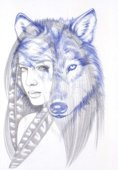 She wolf drawing – Animal Life Wolf Girl Tattoos, Tattoo Wolf, Animal Drawings, Pencil Drawings, Tattoo Drawings, Art Drawings, Girls With Sleeve Tattoos, Wolf Pictures, She Wolf