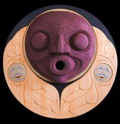 Raven's Song (2000) by Susan Point, Coast Salish (Musqueam) artist (SP-CSA-09)