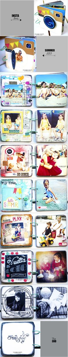 Instagram Mini Album, Insta Love by Vivian at @Studio_Calico