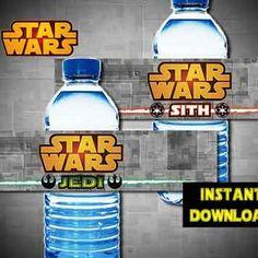 star wars drinks labels