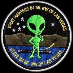 Area 51 Alien Patch