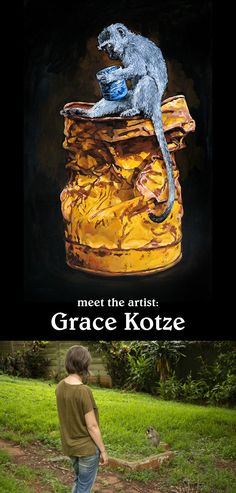Watch the film with artist Grace Kotze in her studio in Durban to bring insight into her creative process. South African Artists, Meet The Artist, Painting Process, Natural World, Online Art Gallery, Behind The Scenes, Fine Art, Studio, Image
