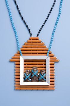 Felieke van der Leest at gallery deux poissons  #jewelry