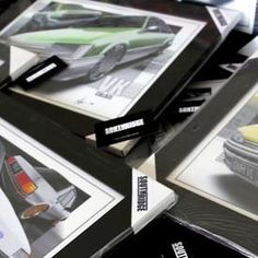 Modified Prints, Fine quality certified framed auto art. Check em out and inquire about your custom print.