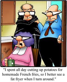 """Spectickles"" Cartoon A Day - Mixed Meanings - Bill Abbott Cartoons"