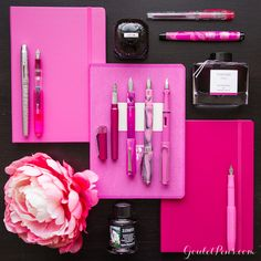 Goulet Pens Blog: Thursday Things: Think Pink