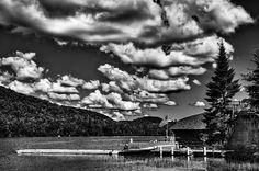 #ADK #Adirondacks #BigMooseInn -The Majestic Big Moose Lake