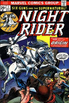 Night Rider 1 1974 cover by Gil Kane and Tom Palmer by giantsizegeek, via Flickr