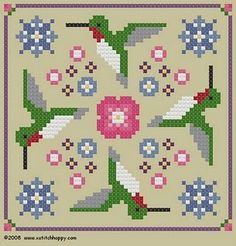 charts from Cross Stitch Happy
