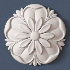 Discover thousands of images about 40 Rosettes Collection Wood Carving Designs, Wood Carving Art, Stone Carving, Wood Art, Ceiling Decor, Ceiling Design, Thermocol Craft, Motif Baroque, Diy And Crafts