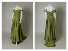 ORIGINAL VINTAGE 1930s 1940s Green and Gold by DarlingsVintageUK, £145.00