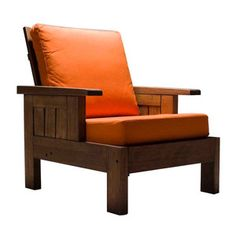 Timbó Armchair Orange, $1,889, now featured on Fab.  Hmm... I think I can MAKE IT :)