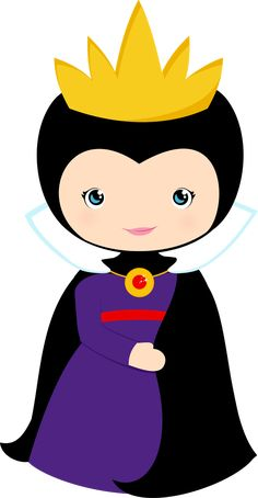 Minus - Say Hello!* 1500 free paper dolls The International Paper Doll Society Arielle Gabriel artist ArtrA Linked In * Disney Villains, Disney Characters, Snow White Birthday, Cute Clipart, Cute Images, Princesas Disney, Maleficent, In Kindergarten, Felt Crafts