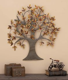 """See our web site for even more info on """"metal tree wall art decor"""". It is actually an outstanding spot to read more. Metal Tree Wall Art, Metal Wall Sculpture, Tree Sculpture, Metal Wall Decor, Wall Sculptures, Tree Wall Decor, Wall Art Decor, Cut Out Art, Boho Home"""