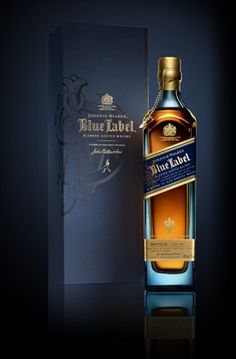 Johnnie Walker Blue Label Scotch Whiskey. This is *the* Scotch. The only way that I will ever get any more to drink is . . . hmmm . . . No, it's not likely ever to happen again b/c I simply can't afford it.   :(