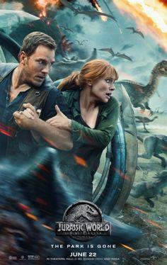 Das neue Poster zu Jurassic World 2. den finalen Trailer gibt es beim www.Kinofans.com