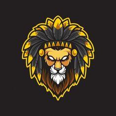 Lion Forearm Tattoos, Lion Tattoo, Jaguar, Cyberpunk, Panther, Tribal Logo, Lion Head Logo, Lion And Unicorn, Lion Illustration