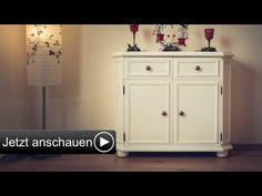 DIY | Sekretär Mit Acryllack Einen Vintage Look Verleihen | Upcycling    YouTube