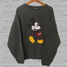 Hey, I found this really awesome Etsy listing at https://www.etsy.com/listing/254689185/vintage-disney-mickey-mouse-sweatshirt