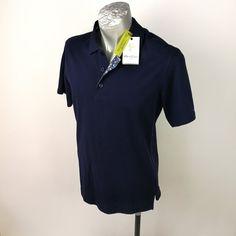 Robert Graham Polo Shirt Sz S Navy Blue Knit Short Sleeve New #RobertGraham #PoloRugby Robert Graham, Black Polo Shirt, Knit Shorts, Rugby, Blues, Polo Ralph Lauren, Navy Blue, Knitting, Sleeves