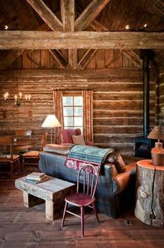 rustic and cozy