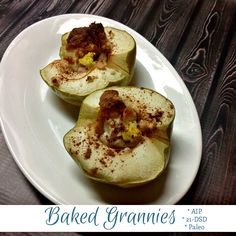 Baked Granny Smith Apples are a surprisingly sweet treat when you're on the 21-Day Sugar Detox. Give my Baked Grannies a try!
