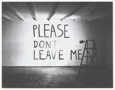 Bas Jan Ader, Please don't leave me (1969)  Creditline: Museum Boijmans Van Beuningen, Rotterdam